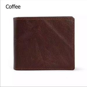 Genuine Leather Men's Wallet 101200